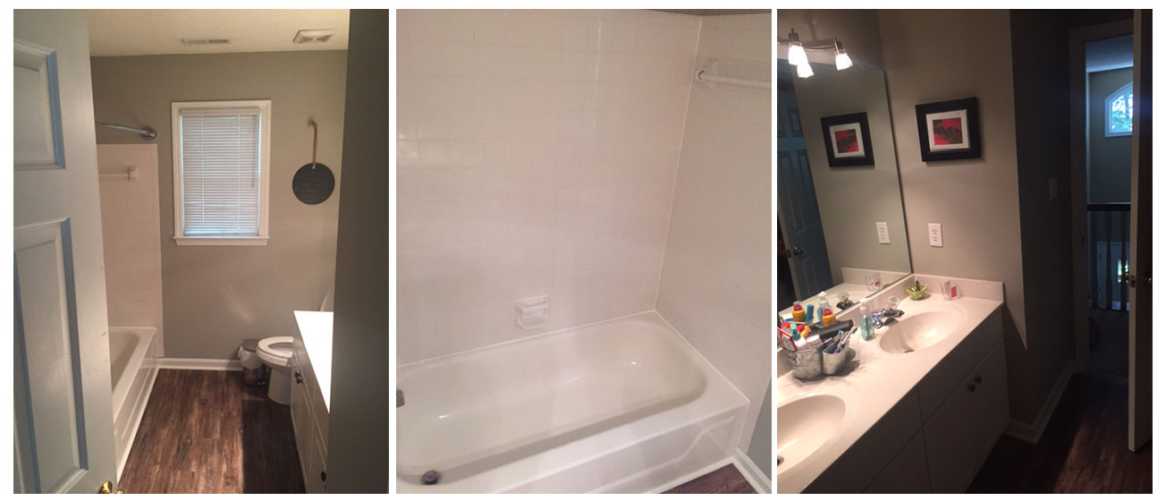 Chuck shomo renovation and repair recent projects for Bath remodel raleigh